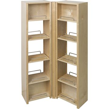 Restorers Pantry Swing Out Cabinet