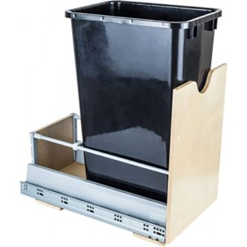 Restorers Preassembled 50-Qt Single Pullout Waste Can System