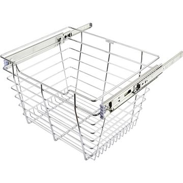 Restorers Pullout Basket For 24 Inch Closet - 16 Inch Depth
