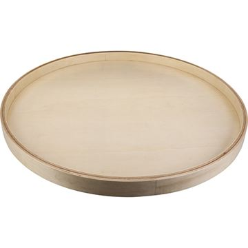 Restorers Round Banded Lazy Susan With Swivel