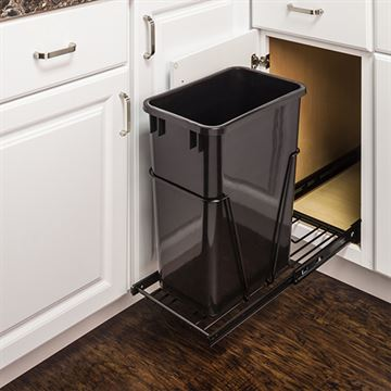 Elements 11-Minute Single Pullout 35 or 50-Qt Waste Container System
