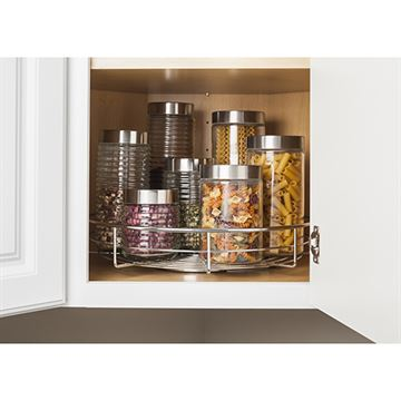 Elements 11-Minute Single Shelf Lazy Susan