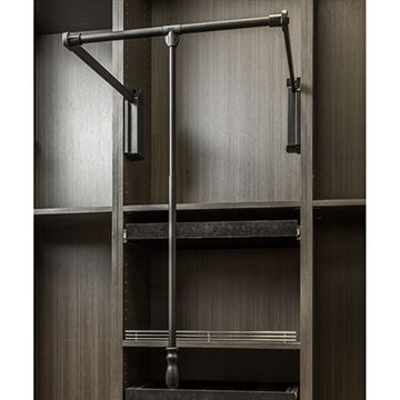 Restorers Soft-Close 33 - 48 Inch Expanding Wardrobe Lift