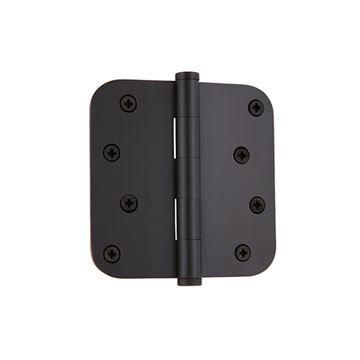 Grandeur 4 Inch Button Tip Residential Radius Corner Hinge
