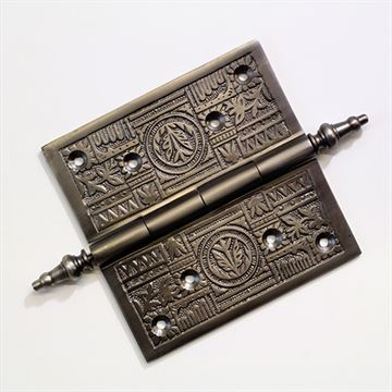 Restorers Ornate Door Hinge - 5 Inch