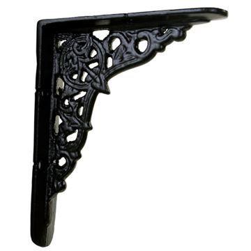 Restorers Ornate Cast Iron Shelf Bracket