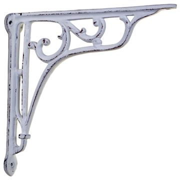 Restorers Large Scroll Iron Shelf Bracket