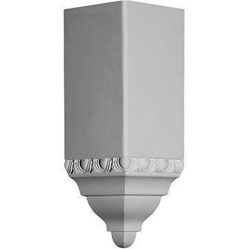Restorers Architectural 11 1/2 Inch Urethane Molding Inside Corner