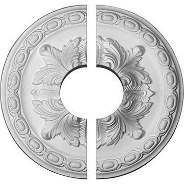 Restorers Architectural Acanthus & Bead Urethane Ceiling Medallion