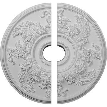 Restorers Architectural Acanthus Ornate Urethane Ceiling Medallion