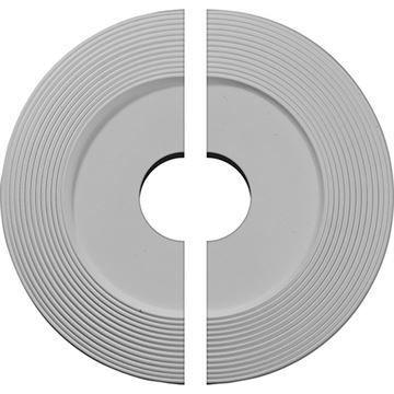 Restorers Architectural 2-Piece Adonis Urethane Ceiling Medallion
