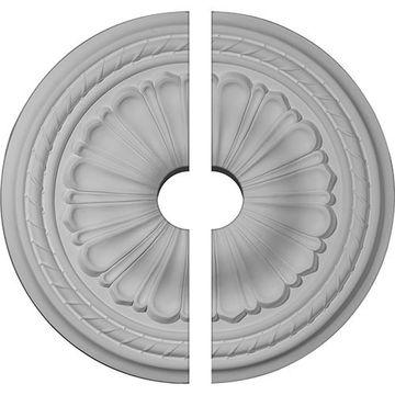 Restorers Architectural Alexa Rope Urethane Ceiling Medallion