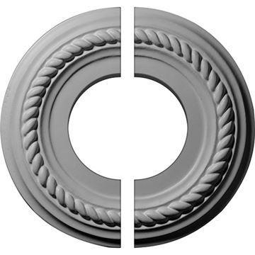 Restorers Architectural Alexandria Rope Urethane Ceiling Medallion