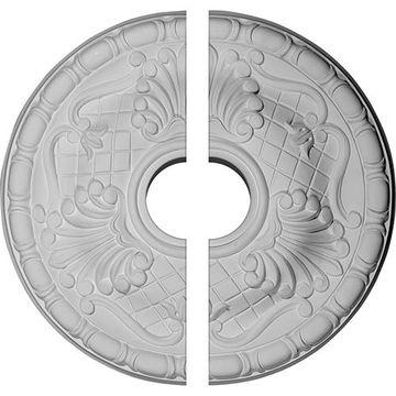 Restorers Architectural Amelia Lattice Urethane Ceiling Medallion