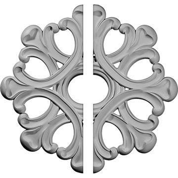 Restorers Architectural Angel Open Urethane Ceiling Medallion