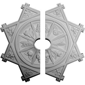 Restorers Architectural Antilles Urethane Ceiling Medallion