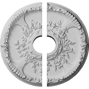 Restorers Architectural Antioch 2-Piece Urethane Ceiling Medallion
