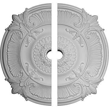 Restorers Architectural Attica Fancy Urethane Ceiling Medallion