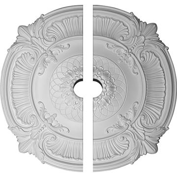 Restorers Architectural Attica Lattice Urethane Ceiling Medallion