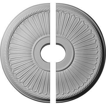 Restorers Architectural Berkshire Rope Urethane Ceiling Medallion
