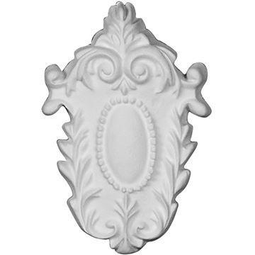 estorers Architectural Cole Oval Medallion Urethane Onlay Applique