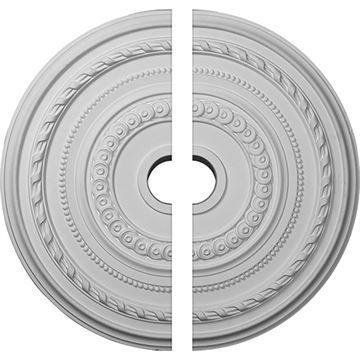 Restorers Architectural Cole Urethane 2-Piece Ceiling Medallion