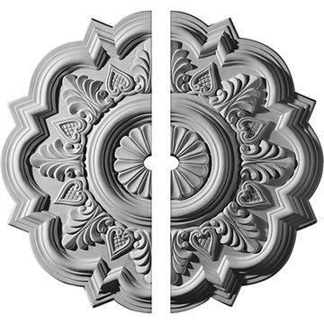 Restorers Architectural Deria Urethane Ceiling Medallion