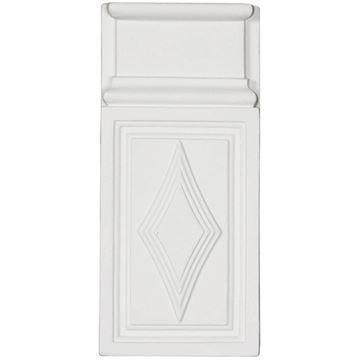 Restorers Architectural Diamond Urethane Plinth Block