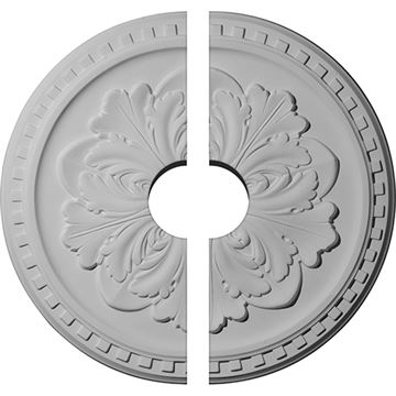 Restorers Architectural Emery Dentil Urethane Ceiling Medallion