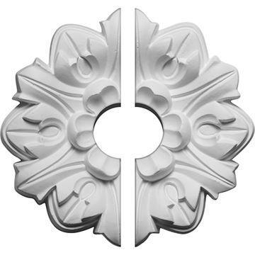 Restorers Architectural Emery Urethane 2-Piece Ceiling Medallion