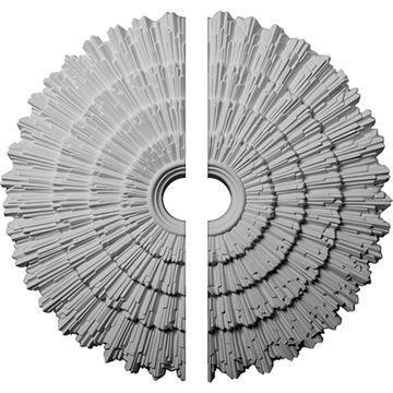 Restorers Architectural Eryn Urethane 2-Piece Ceiling Medallion