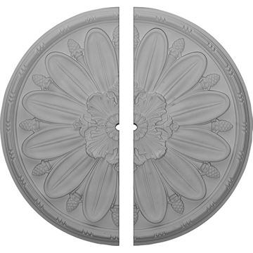 Restorers Architectural Fairfax 29 7/8 Inch Ceiling Medallion