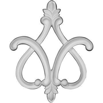 Restorers Architectural Fleur-de-lis Decorative Applique