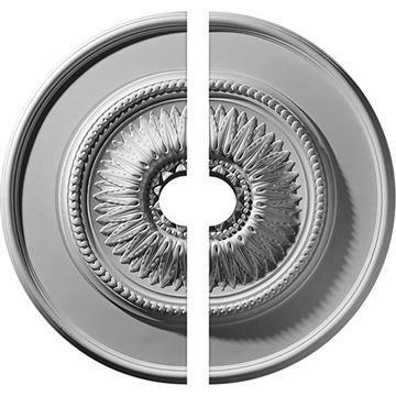 Restorers Architectural Floral Urethane Ceiling Medallion
