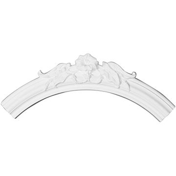 Restorers Architectural Flower Quarter Urethane Ceiling Ring Only