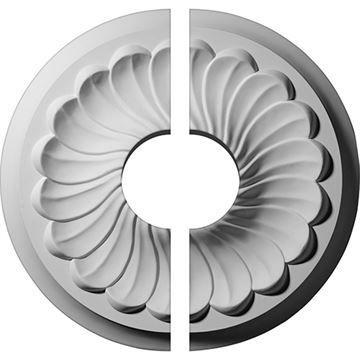 Restorers Architectural Flower Urethane Ceiling Medallion