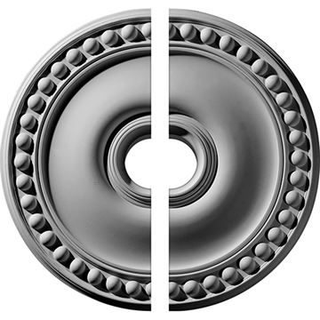 Restorers Architectural Foster Plain Urethane Ceiling Medallion