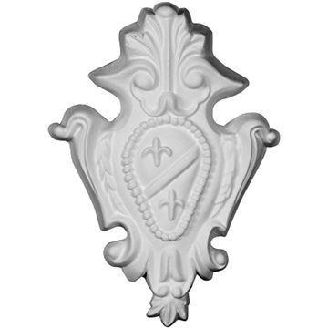 Restorers Architectural Genevieve Crest Urethane Onlay Applique