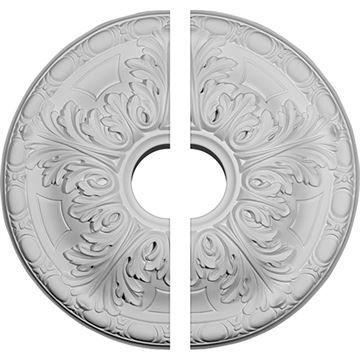 Restorers Architectural Granada 5-Leaf Urethane Ceiling Medallion