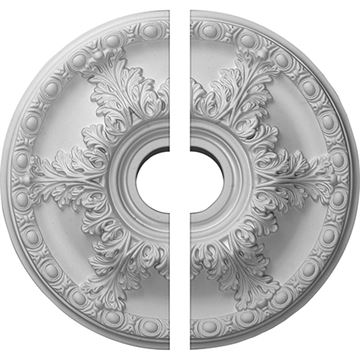 Restorers Architectural Granada 6-Leaf Urethane Ceiling Medallion