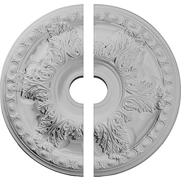 Restorers Architectural Granada Panel Urethane Ceiling Medallion