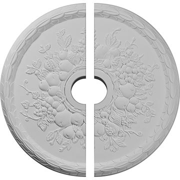 Restorers Architectural Grape Urethane Ceiling Medallion