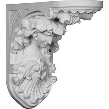 Restorers Architectural Hestia Urethane Corbel
