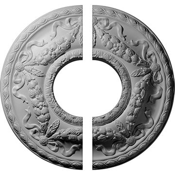 Restorers Architectural Hurley Urethane Ceiling Medallion