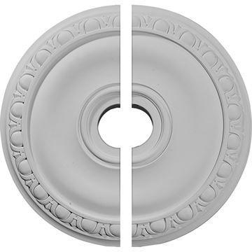 Restorers Architectural Jackson Egg & Dart Urethane Ceiling Medallion
