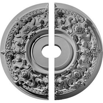 Restorers Architectural Jackson Ornate Urethane Ceiling Medallion