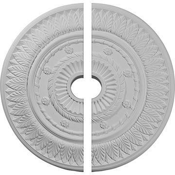Restorers Architectural Leaf & Flower Urethane Ceiling Medallion