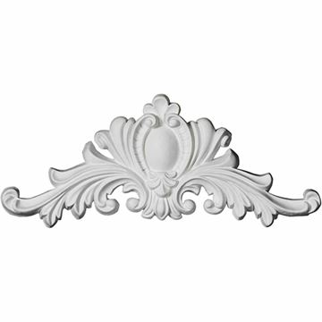 Restorers Architectural Marcella Medallion Urethane Onlay Applique