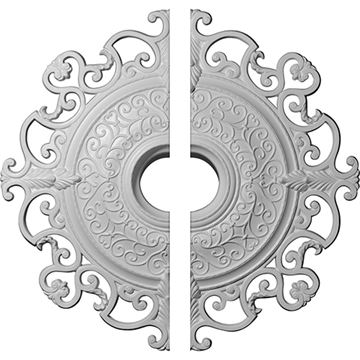 Restorers Architectural Orleans Open Urethane Ceiling Medallion