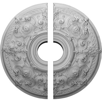 Restorers Architectural Oslo Bouquet Urethane Ceiling Medallion